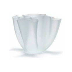 "FontanaArte - FontanaArte | Cartoccio 7.8 Inch Vase - This timeless design from Pietro Chiesa boasts fluid folds in glass. Offered in three finishes and five colors. Also available in 5.9"" and 11.8"" sizes."