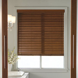 Levolor - Levolor Visions 2-inch Faux Wood Blinds - Premium faux wood slat colors provide the look of real wood but are humidity and heat resistant, perfect for any room in the house.
