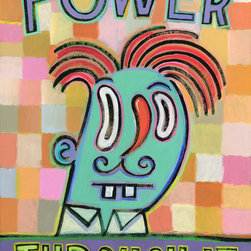 Hal Mayforth - Power Through It - Humorous Giclee Prints from Hal Mayforth - Power Through It
