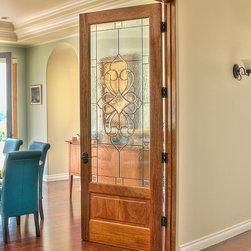 Interior Wood Doors - Interior One-Lite Bottom Panel Venetian