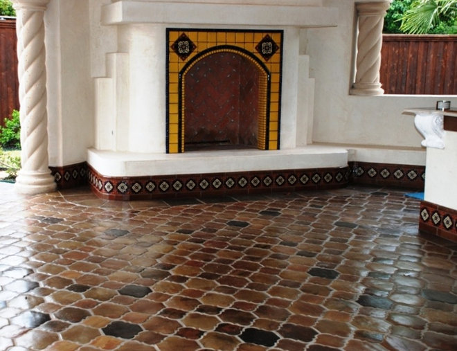 Saltillo Mexican Tile Around The Home