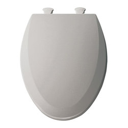 Bemis Toilet Seats - Bemis B1500EC162 Elongated Closed Front Molded Wood Toilet Seat with Cover in Si - Shop for Seats from Hayneedle.com! About BemisRenowned for its high-quality bathroom fixtures and design the family-owned Bemis company stands for durability and innovation. The organization serves markets worldwide while remaining well known for serving residential consumers as well as commercial medical and industrial markets. All under the respected name of Bemis these products made to serve a number of markets and industries are all well designed and can found all around the world.