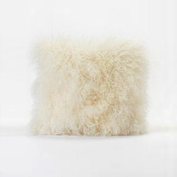 Fur-ious Throw Pillow - Soft, sweet, and oh so cozy, keep this lamb's wool pillow close by when you're ready to grab a few Zs. And when you're awake? Use it as a smart cushion when you're having a movie marathon.