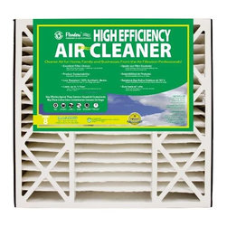 FLANDERS - FLTR 20X25X5 AIR CLNR M8 - The Flanders Residential Air Cleaner line is manufactured for use in Air Bear, Honeywell, and Spaceguard units.  This line offers equal or superior performance to the original replacements.|Replacements for several models|Electrostatic Poly blend models offer a 8 rating|No alterations or equipment required