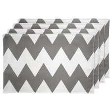 contemporary placemats by Hayneedle