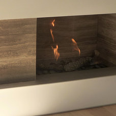 Modern Living Room by The Fireplace Specialist