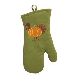 Turkey Mitt - I love the combination of the turkey and pumpkin. I'd use this pot holder all throughout fall.