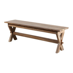 Chennai Teak Bench - Product Features:
