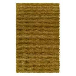 Anchorage ANC1004 Rug - 2'x3' - Reminiscent of a cable knit sweater the Anchorage Collection is one of Surya's most unique rugs. Made of 100% New Zealand felted wool, this ultra textured shag makes and impressive statement within any room.