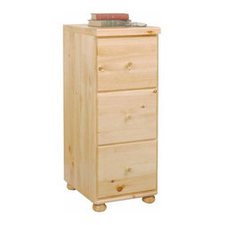 Renovators Supply - File Cabinets Country Pine Wentworth 3-drawer 40'' H | 195713 - File Cabinet. Crafted of solid pine this Wentworth style 2-drawer file cabinet comes in an Country Pine finish. Professional-size drawers hold letter size documents. The file cabinet rests upon 4 bun feet. Simple and elegant in design this well constructed cabinet suits any decor. Measures 40 in. H x 15 1/2 in. W x 19 1/2 in. proj.