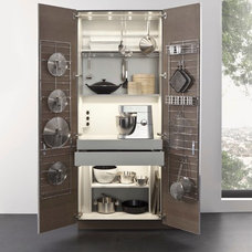 Contemporary Kitchen Cabinetry by Belle Design Build