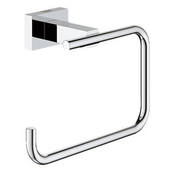 Grohe - Grohe 40507000 Chrome Essentials Toilet Paper Holder - Grohe 40507000 Chrome Essentials Toilet Paper Holder