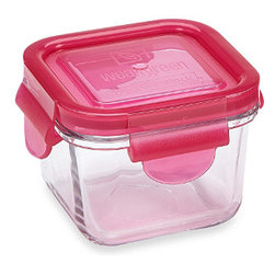 Wean Green - Wean Green Snack Cube, Raspberry - If you're looking for the best eco friendly food storage solution for your paperless kitchen, you'll be in the  with the Wean Green Snack Cube in Raspberry! This 7,ounce food storage solution is made of glass.