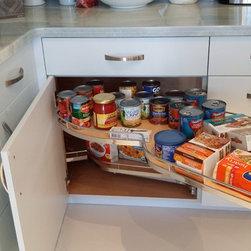 Kitchens - Blind Corner Pull-Out
