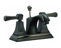 DHI-Corp - Torino 4-Inch Lavatory Faucet, Brushed Bronze - The Design House 522003 Torino 4-Inch Lavatory Faucet features a dual handle design with a 3-hole, 4-inch center mount and brass popup for sealing your drain. This faucet's body is made of brass and the handles are made of zinc alloy. Finished in brushed bronze, this faucet is refined and elegant with a ceramic disc cartridge and brass waterways. The brass waterways contain zinc and copper which are known to prevent antimicrobial growth ensuring safe and clean water for your family. Compared to the 1 to 5-year lifespan of traditional faucets, ceramic disc faucets can last up to 30 years and provide ultimate protection against corrosion to the water valve. With the Water Sense label, this faucet is a water-efficient product and certified to meet EPA Water Sense criteria for efficiency and performance. The 1.3-gallon per minute flow rate ensures a steady water flow after years of everyday use and extends 4.4-inches which leaves plenty of room for washing your hands. This faucet has a quarter turn stop lever handle operation and is UPC, ADA, lead-free and cUPC compliant. The Design House 522003 Torino 4-Inch Lavatory Faucet comes with a lifetime limited warranty that protects against defects in materials and workmanship. Design House offers products in multiple home decor categories including lighting, ceiling fans, hardware and plumbing products. With years of hands-on experience, Design House understands every aspect of the home decor industry, and devotes itself to providing quality products across the home decor spectrum. Providing value to their customers, Design House uses industry leading merchandising solutions and innovative programs. Design House is committed to providing high quality products for your home improvement projects.