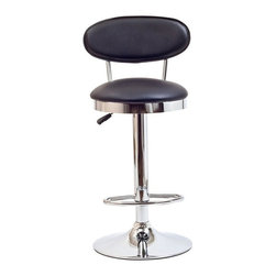 Modway - Modway Retro Bar Stool - EEI-636-WHI - Shop for Stools from Hayneedle.com! Design that's old-fashioned yet distinctively up-to-date the mid-century modern style of the Modway Retro Bar Stool makes the perfect seat for your bar. The sleek chrome base complements padded vinyl seat and back for a striking combination. The footrest and adjustable height will make you linger longer. Choose from available colors. Assembly required.About ModwayModway designs and manufactures modern classic furniture pieces for the contemporary home. The quality pieces are fresh and elegant with a distinctively updated appeal. Simple clean lines and a vibrant selection of colors and finishes make these pieces perfect for the home or office. A wide selection of products include pieces for the living room dining room bar office and outdoors. High-quality and innovative designs make Modway the premier company for luxurious modern style.