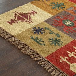 Kilims - Looking to add visual interest to your room? Vintage kilims are the just ticket. Place them on your floor, hang them a wall, or use one as a tablecloth! Their only limit is your imagination!