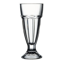 Hospitality Glass - 7.5H X 3.25T X 2 3/4B 10 oz Soda Glasses 12 Ct - 10 oz Soda