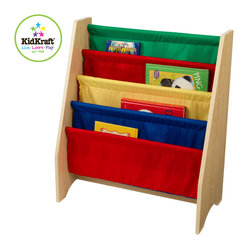 Kids Kraft Primary Sling Bookshelf For Kids