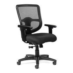 ERGO - ERGO Capri Value Mesh Medium Back Task Chair - *1 paddle