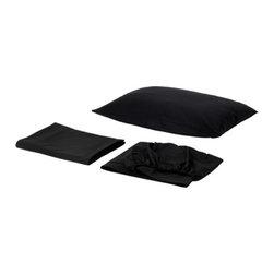 DVALA Sheet set - Sheet set, black