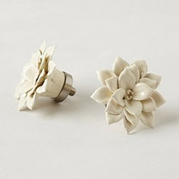 Anthropologie - Begonia Finials - *Tighten with care