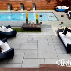 Modern Hot Tub And Pool Supplies by Techo-Bloc