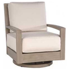 Modern Outdoor Lounge Chairs by authenTEAK Outdoor Living