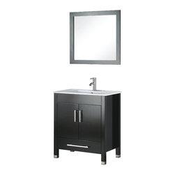 Adornus - Adornus AMADIS-24-E-C Espresso Vanity - * Floor standing all Wood Vanity.