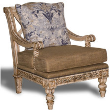 Mediterranean Armchairs And Accent Chairs by PENINSULA