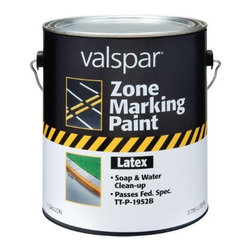 VALSPAR - 24-137 1G Blue Latex Traffic - Alkyd Traffic Marking Paint