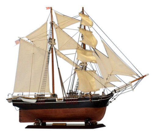 "Handcrafted Model Ships - Kate Cory Limited 32"" - Wood Whaling Boat Model - Sold Fully Assembled Ready for Immediate Display -Not a Model Ship Kit"