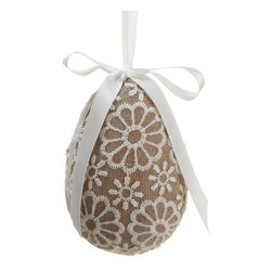 Silk Plants Direct - Silk Plants Direct Egg Ornament (Pack of 8) - Pack of 8. Silk Plants Direct specializes in manufacturing, design and supply of the most life-like, premium quality artificial plants, trees, flowers, arrangements, topiaries and containers for home, office and commercial use. Our Egg Ornament includes the following: