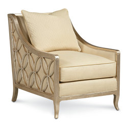 Louis J Solomon Upholstered Lounge Chair - CHR-4911