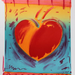 Peter Max, Heart II, Lithograph - Artist:  Peter Max, German/American (1937 - )
