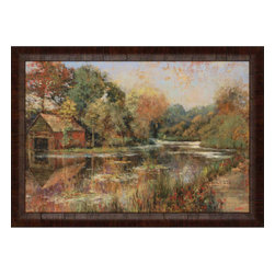 Paragon - Autumnal Reflections - Framed Art - Each product is custom made upon order so there might be small variations from the picture displayed. No two pieces are exactly alike.