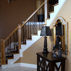 Traditional Entry by Fluff Interior Design