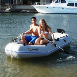 Solstice Quest Inflatable 9-ft. Boat Set