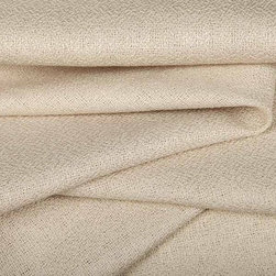 Ripa Neutral Linen Blend Fabric in Linen - Ripa Neutral Linen Blend Fabric in Linen has a slightly textured weave that works great for light upholstery projects, custom bedding, or window treatments. Made from a blend of 55% linen and 45% rayon, this fabric passes 3,000 double rubs. Cleaning code: S. Width: 56″.