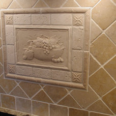 Traditional Tile by Woodmaster Kitchens