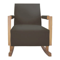 Nurseryworks Bungalow Rocker - This would be a great option if you don't want a rocker that is fully upholstered.