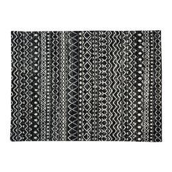 1800-Get-A-Rug - Modern Handmade Sari Silk Ivory Geometric Design Oriental Rug Sh19521 - Modern Handmade Sari Silk Ivory Geometric Design Oriental Rug Sh19521