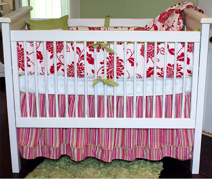 Tropical Baby Bedding by dimplesanddandelions.com