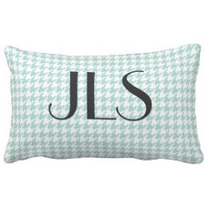 contemporary pillows by Zazzle