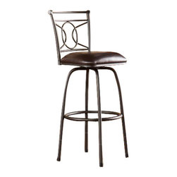 Holly and Martin - Stratford Adjustable Counter/Bar Stool - Opt for seating with the freedom to choose! This adjustable stool offers a dynamic solution for bar or counter seating.