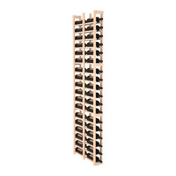 "Wine Racks America - 1 Column Double Deep Cellar Kit in Pine, (Unstained) - Wine storage capacity to the next level. Fit 3 cases of wine on less than 5"" of wall space! This narrow wine rack is perfect for creating maximum storage capacity from every little nook and cranny without requiring more wall space. This rack is built to last. Guaranteed."
