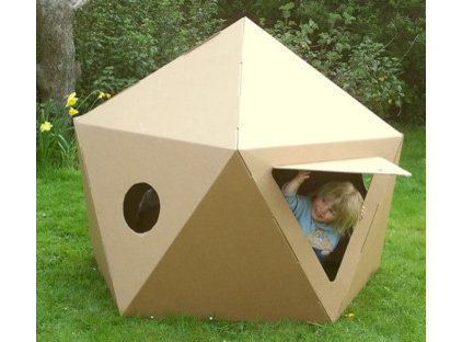 Modern Outdoor Playhouses by Paperpod