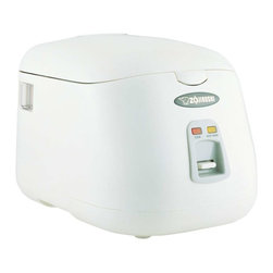 Zojirushi - Zojirushi NS-PC10 Electric Rice Cooker and Warmer, 5 cup - -Easy-to-use single switch control