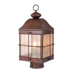 Vaxcel Lighting - Vaxcel Lighting OP39595 Revere 3 Light Outdoor Post Light - Features: