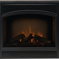 Majestic Products - Majestic WEF33 Allura-Fire Electric Fireplace - The Majestic WEF33 Allura-fire electric fireplaces part of Majestic's full line of products to complete your fireplace or stove. The Allura-Fire series from Majestic model WEF33 brings an unmatched, beautifully authentic classic styling with it's decorative arched face and sandstone refractory brick sides , and includes convenient remote control gives you freedom to manipulate your fireplace to suit any mood. This model features electric operation for easy installation. Majestic has been serving in the production of quality fireplaces, stoves, log sets, and outdoor accessories for over 50 years, and offer a wide range of beautiful styles, sizes, and trims.